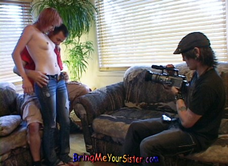 Alison Rapture Lets Her Brother Film Her Naked