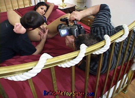 Filming My Sister In Her 2nd Porn Video