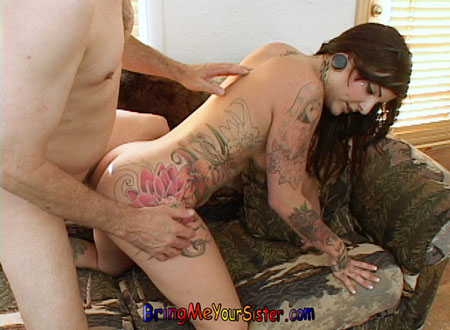 tattooed petite sister fucking pierced 1tm